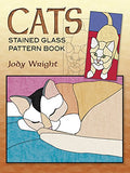 Cats Stained Glass Pattern Book (Dover Stained Glass Instruction)