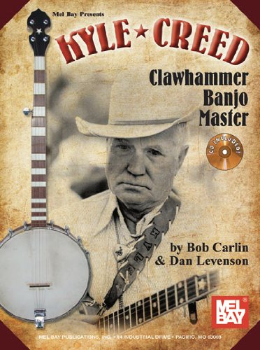 Kyle Creed - Clawhammer Banjo Master Book/Cd Set