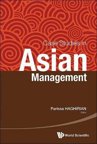 Case Studies In Asian Management