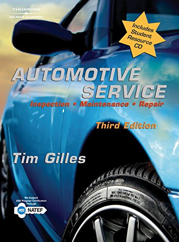 Automotive Service: Inspection, Maintenance, Repair (Book Only)