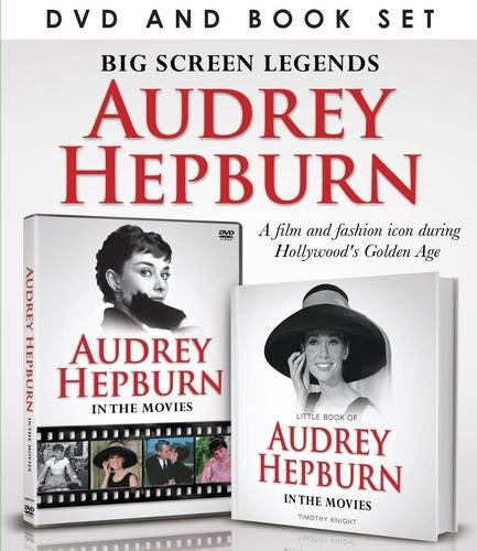 Movie Legends: Audrey Hepburn (Demand Media Book And Dvd Gift Sets)