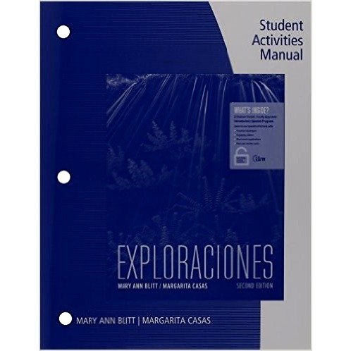 Exploraciones: Student Activities Manual