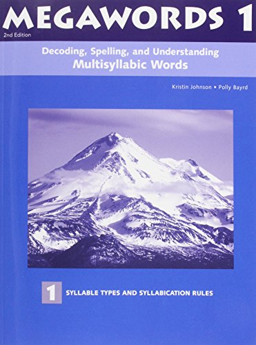 001: Megawords 1: Multisyllabic Words For Reading, Spelling, And Vocabulary