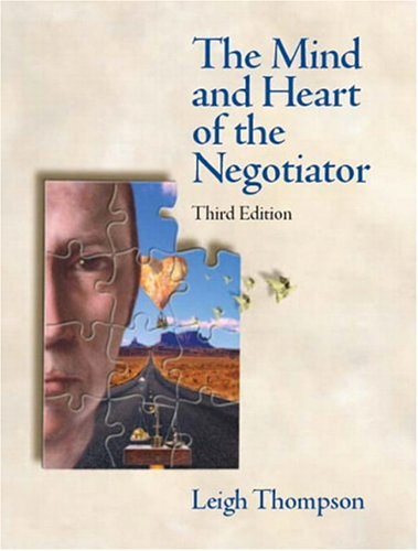 Mind And Heart Of The Negotiator, The (3Rd Edition)