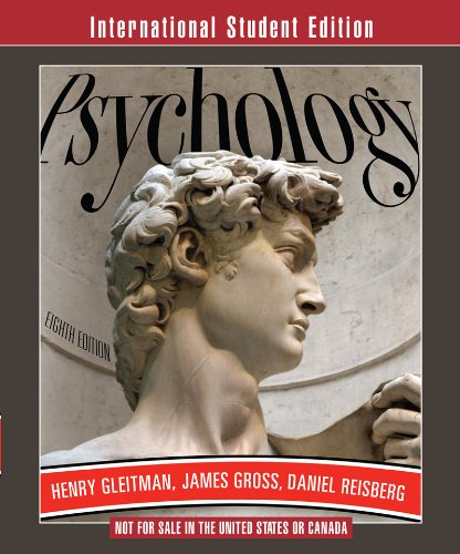 Psychology (Eighth International Student Edition)