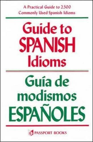 Guide To Spanish Idioms