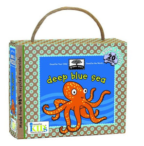 Green Start: Deep Blue Sea (Book And Puzzle) - Made From 98% Recycled Materials (Green Start Puzzles)