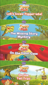 Disney'S My Friends Tigger & Book Book Set Of 4 (Let'S Inves-Tigger-Ate!, The Missing Story Mystery, On The Color Case, On The Tail Trail)
