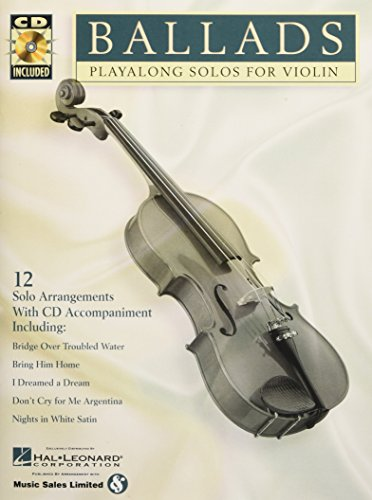 Ballads: Play-Along Solos For Violin