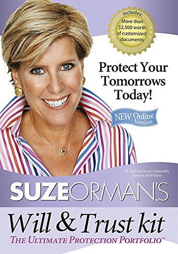 Suze Orman'S Will & Trust Kit: The Ultimate Protection Portfolio