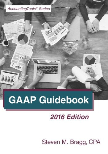 Gaap Guidebook: 2016 Edition