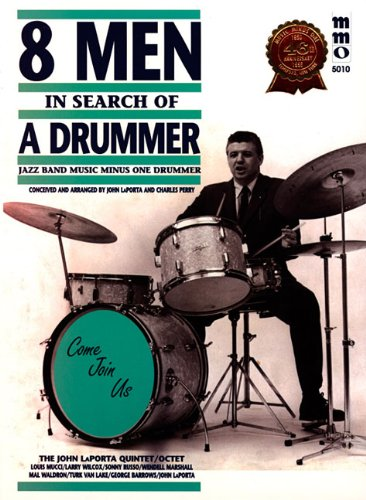 Eight Men In Search Of A Drummer (Music Minus One (Numbered))
