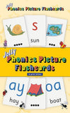 Jolly Phonics Picture Flashcards (In Print Letters)