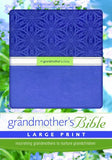 Niv, Grandmother'S Bible, Large Print, Imitation Leather, Purple