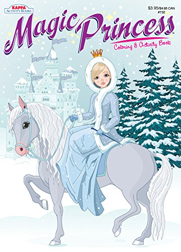 Magic Princess Coloring & Activity Book- Winter Princess