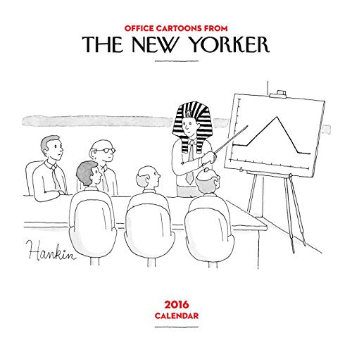 Cartoons From The New Yorker 2016 Mini Wall Calendar
