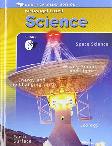 Mcdougal Littell Middle School Science North Carolina: Student Edition Course 1 Integrated Course 1 2005