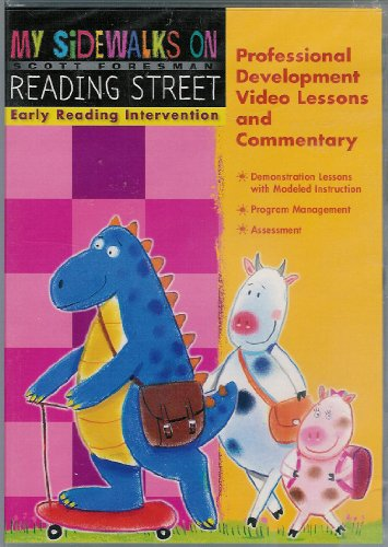 Reading 2008 My Sidewalks Early Reading Intervention Professional       Development Video Lessons And Commentary Dvd Grade K
