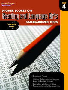 Higher Scores On Standardized Test For Reading & Language Arts: Reproducible Grade 4