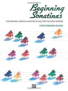 Beginning Sonatinas: Five Original Works In Varying Styles For The Early Grades