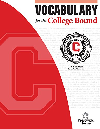 Vocabulary For The College Bound - Book C