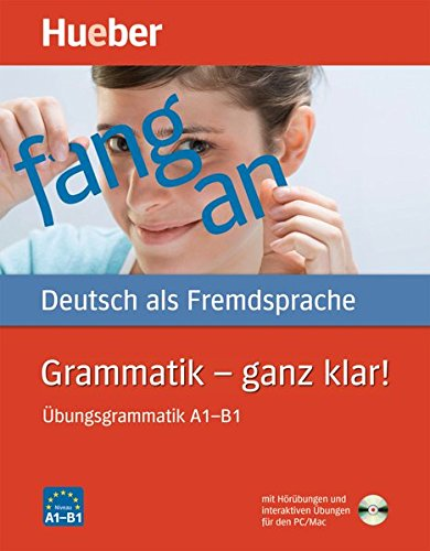 Hueber Dictionaries And Study-Aids: Grammatik - Ganz Klar!