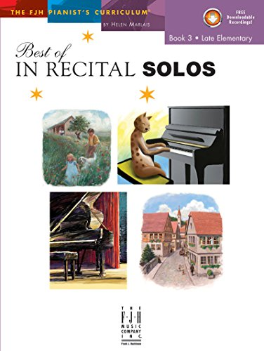 Best Of In Recital Solos, Book 3