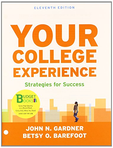 Loose-Leaf Version Of Your College Experience 11E & Launchpad For Your College Experience 11E (Six Month Access)