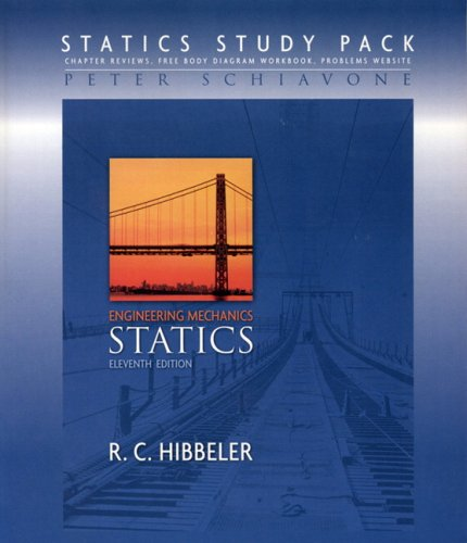 Statics Study Pack For Engineering Mechanics: Statics And Student Study Pack With Fbd Package