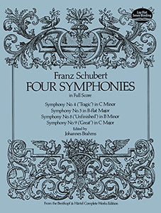 Four Symphonies In Full Score (Dover Music Scores)
