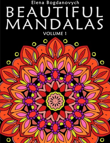 Beautiful Mandalas: A Coloring Book Featuring 24 Artworks (Volume 1)
