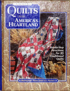Quilts From America'S Heartland: Step-By-Step Directions For 35 Traditional Quilts (Rodale Quilt Book)