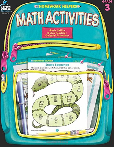 Math Activities, Grade 3 (Homework Helper)
