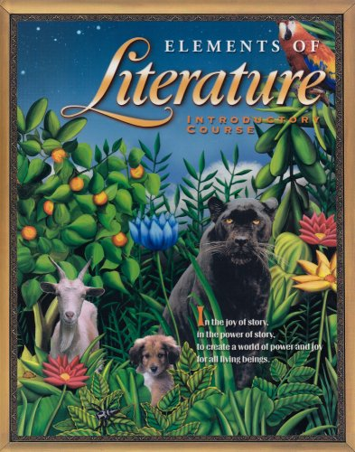 Elements Of Literature: Student Ediiton Introductory Course 2003
