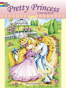 Pretty Princess Coloring Book (Dover Coloring Books)
