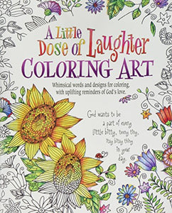 A Little Dose Of Laughter Coloring Art