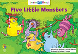 Five Little Monsters (Learn To Read Math Series)