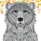 The Menagerie: Animal Portraits To Color