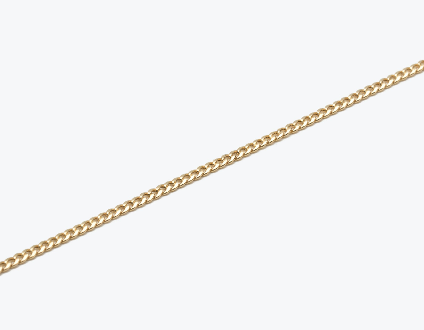 Vrai and Oro simple classic 14k Solid gold think Cuban Link Bracelet, 14K Yellow Gold