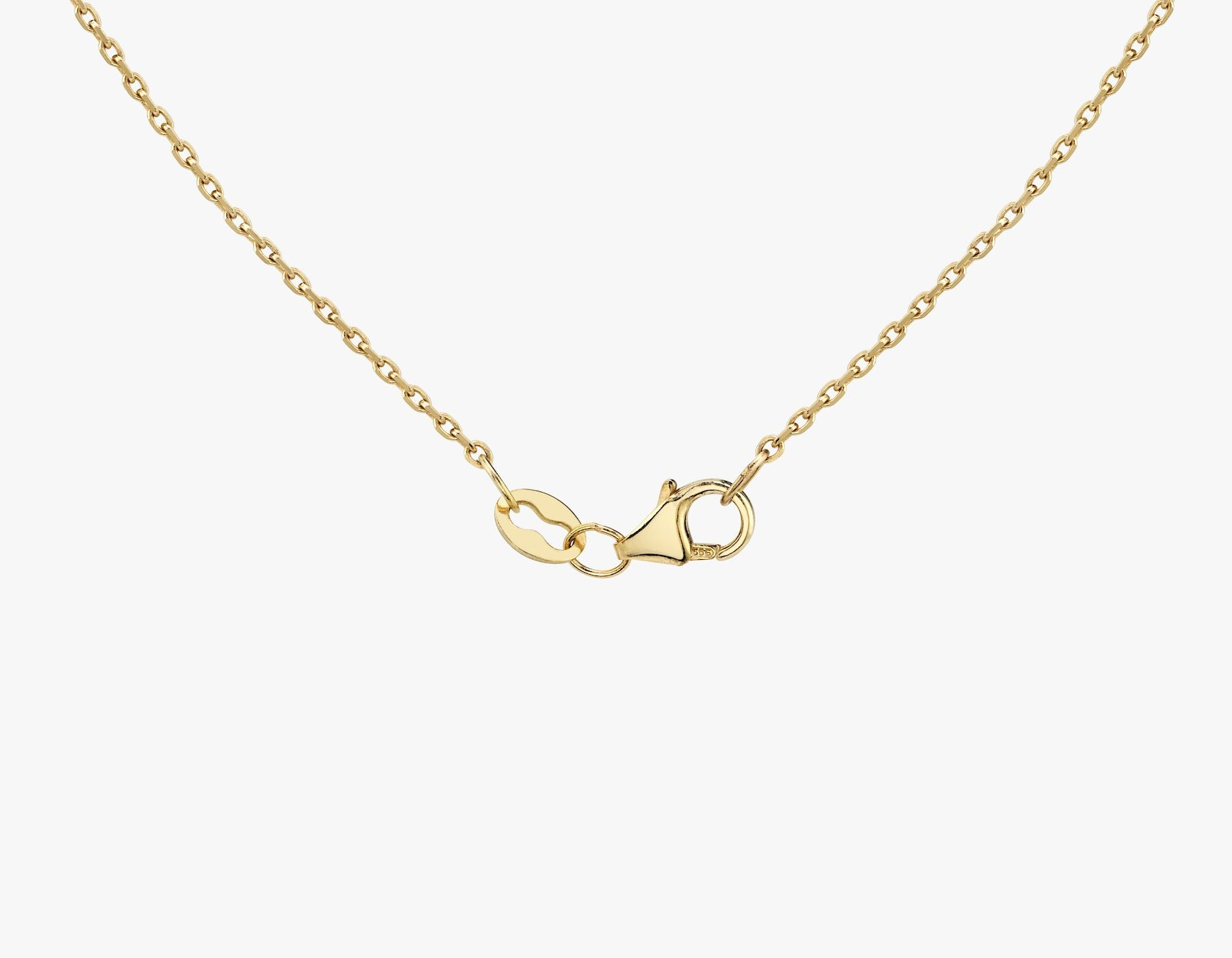 Vrai necklace clasp, 14K Yellow Gold