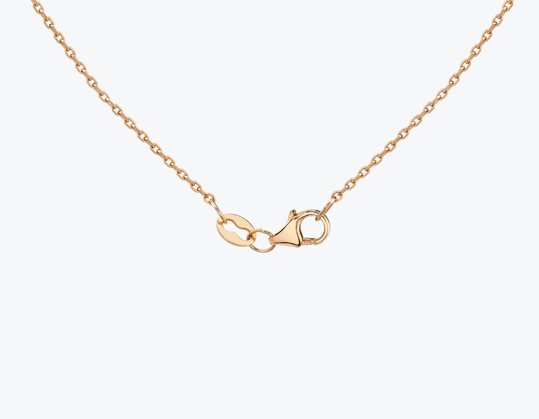 Vrai necklace clasp, 14K Rose Gold