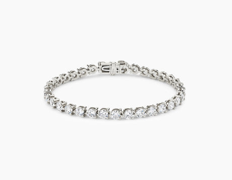 Round Diamond Tennis Bracelet - Large