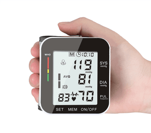 Wrist BP Monitor - Measure Your Blood Pressure Anywhere, Anytime
