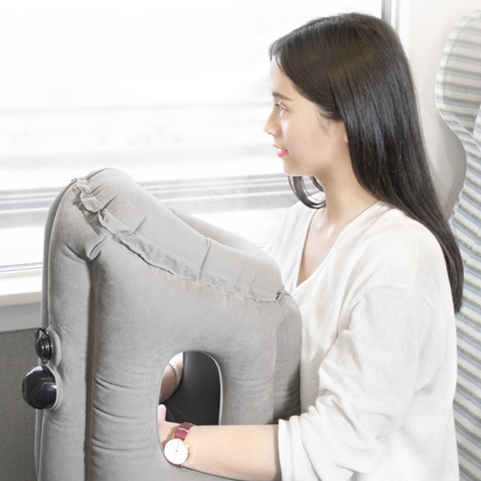 Portable Innovative breathable nap pillow [Convenient and Functional]
