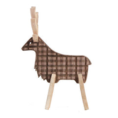 Caribou Plaid-B Walnut