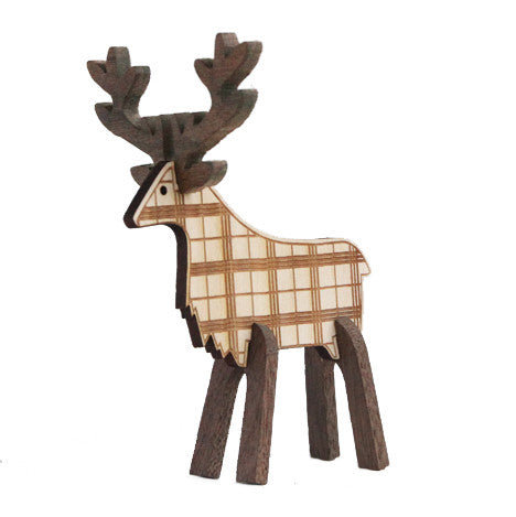 Caribou Plaid-A Maple