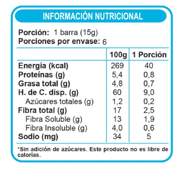 Barra de Cereal Chocolate