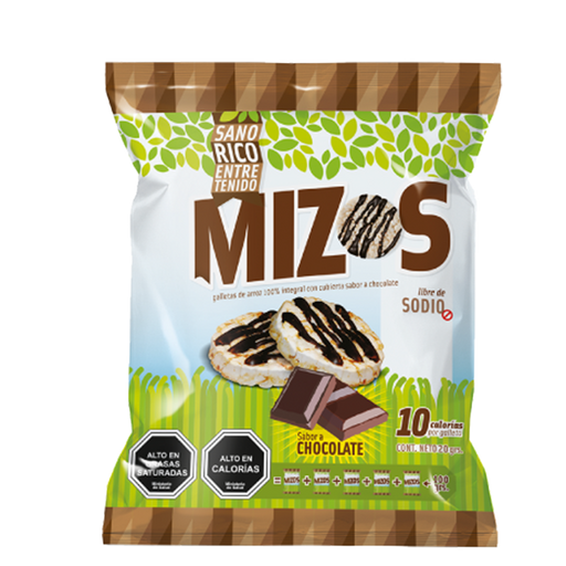 Mizos sabor chocolate