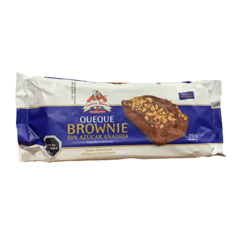 Queque Brownie Chocolate Familiar 250 gr