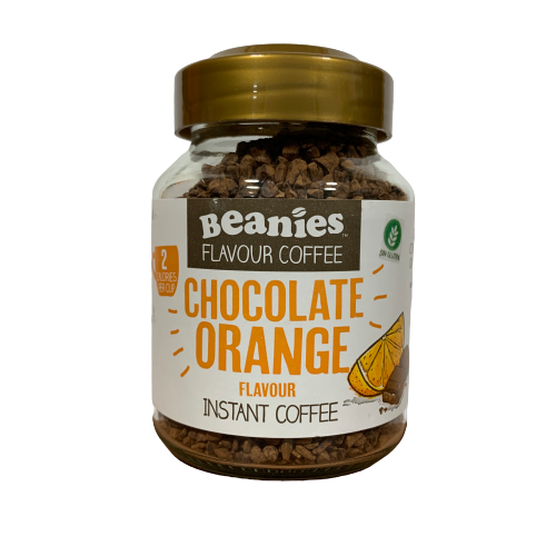 Café Instantáneo sabor Orange Chocolate Beanies 55gr